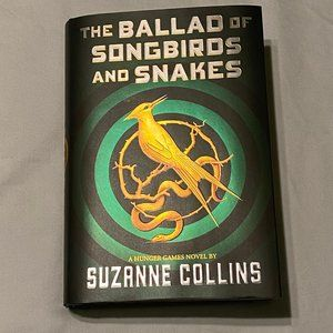 The Ballad of Songbirds and Snakes hardcover book